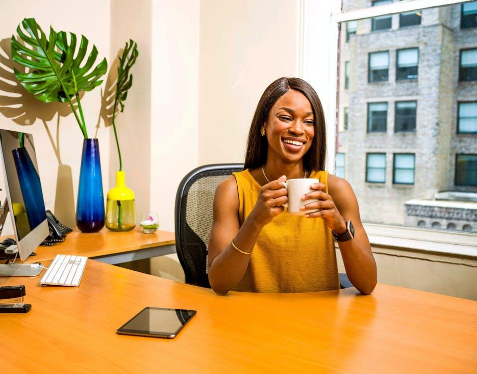 Ett rent kontor gör dig glad